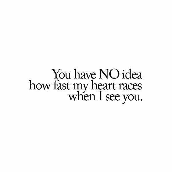 When I See Youmy Heart Smiles Love Quotes