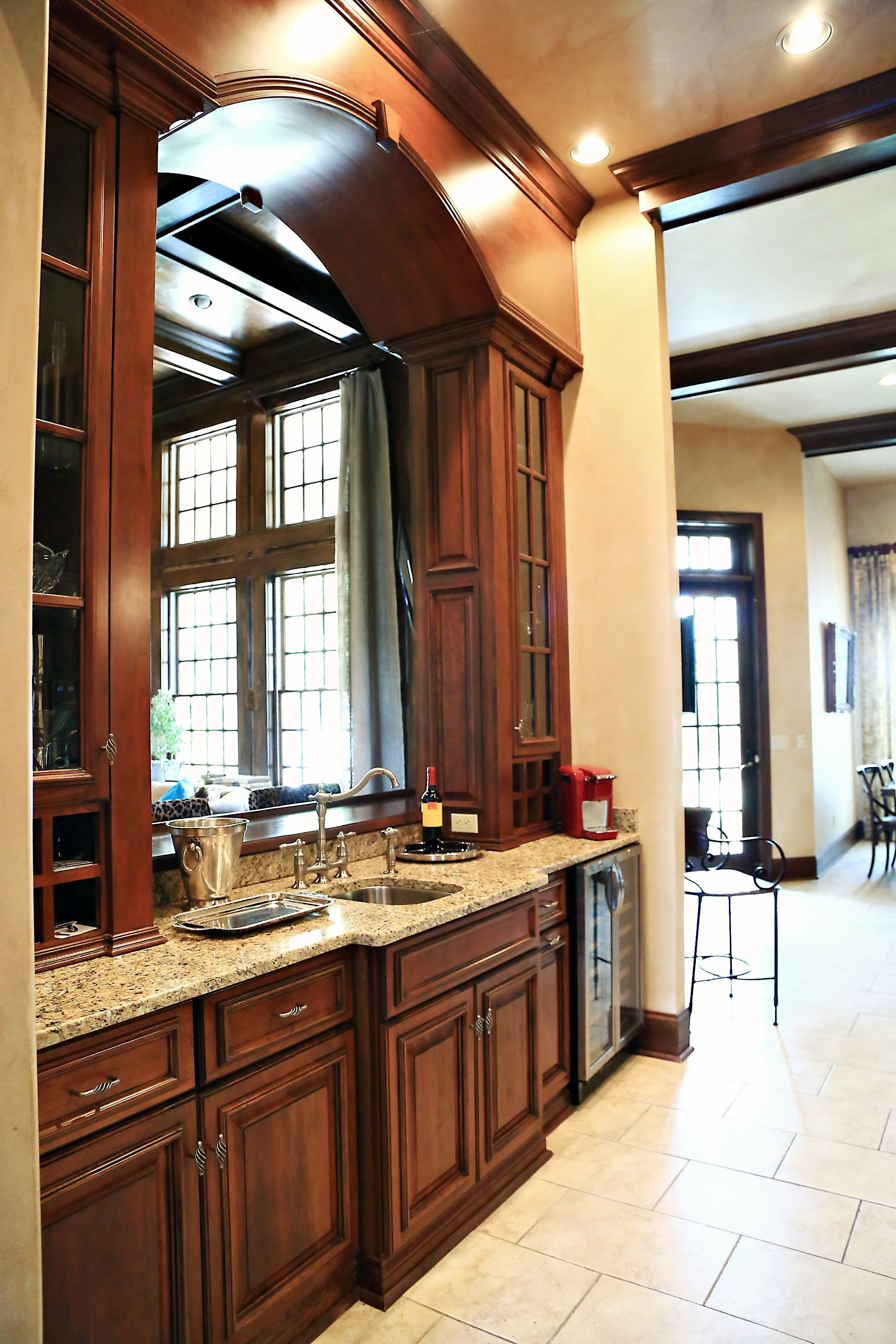 gallery kitchen cabinetry from Louisville Kitchen Cabinets