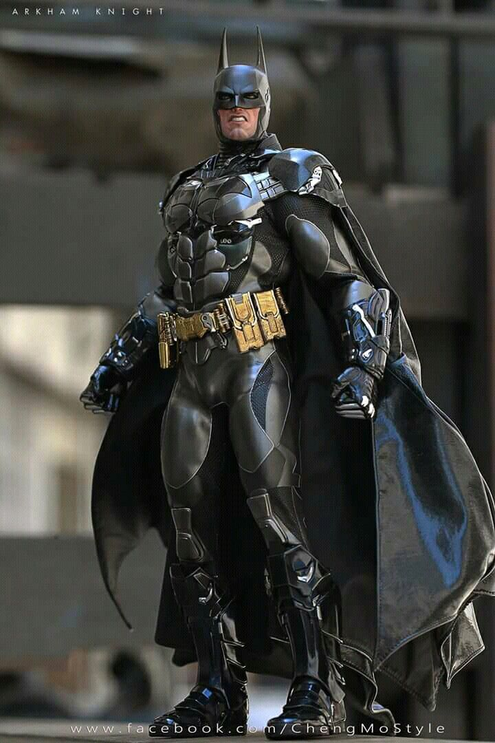 Batman Arkham Knight Hot Toys Collectible Figurine Com Imagens