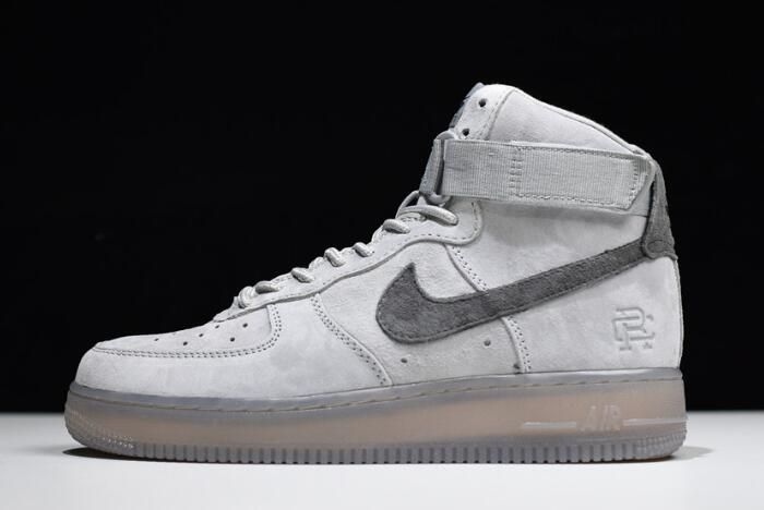 Reigning Champ x Nike Air Force 1 High  07 Grey Black 882098-100 ... 8df22ab37e74