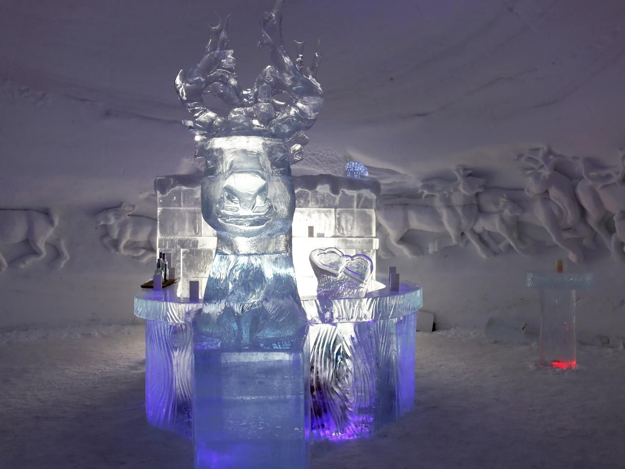 World' Coolest Ice Hotels Winter