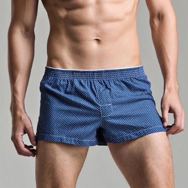 a1926fe0517 Men s Underwear Loose Leisure Shorts Cotton Comfortable Men Boxer Shorts  Fashion Plaid Boxers Men Lounge Home Wear Underwears