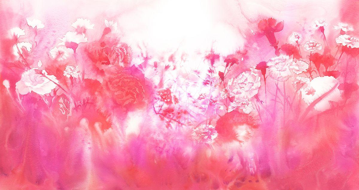 Takashimaya3  #watercolor_flowers #OHGUSHI #水彩 #particles_粒子