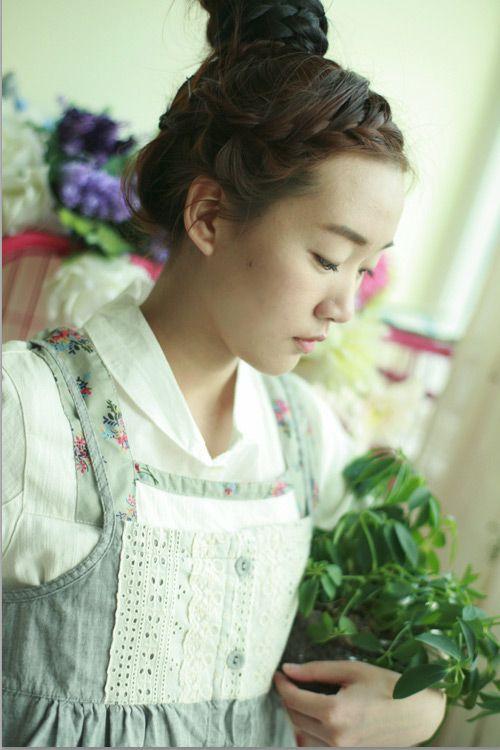 mori girl hairstyle kei
