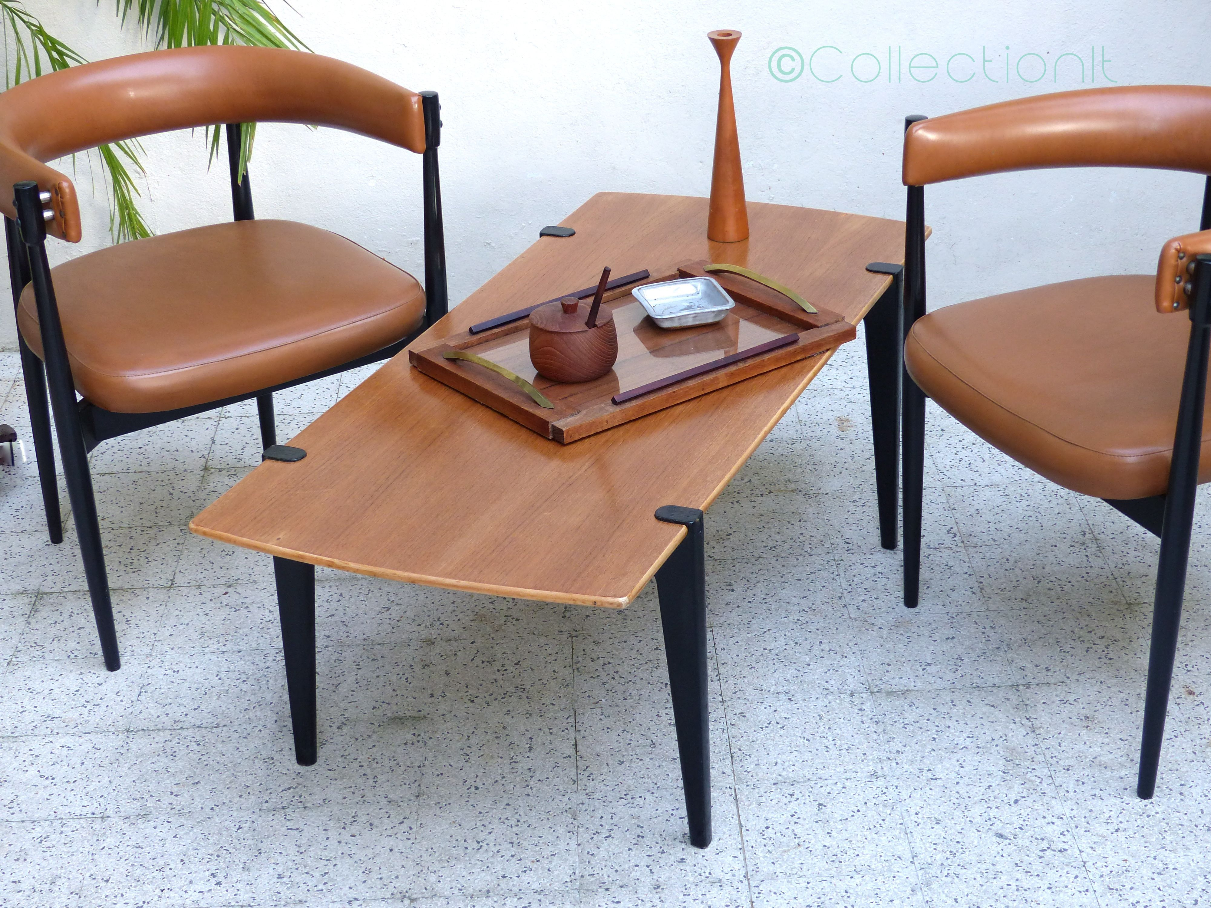 basse en vintageTable scandinave Table teck basse VUzpqSM
