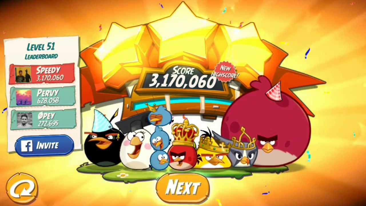 Angry Birds 2 Boss Fight level 51! -Gameplay Walkthrough