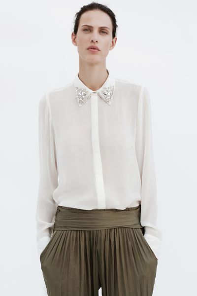 June Woman Lookbook Zara Canada Collared Shirts A