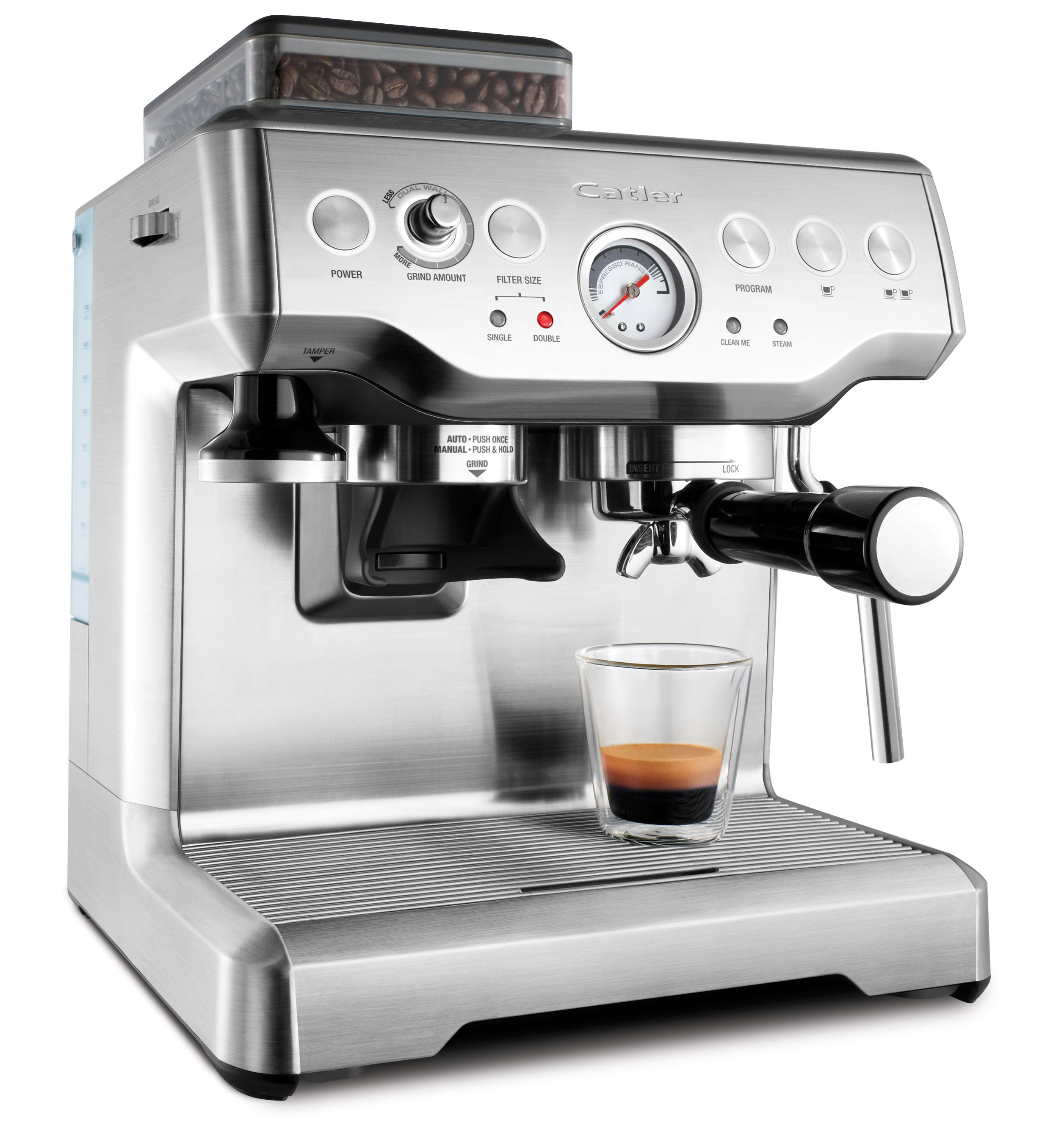 Espresso machine with coffee grinder Catler ES 8012