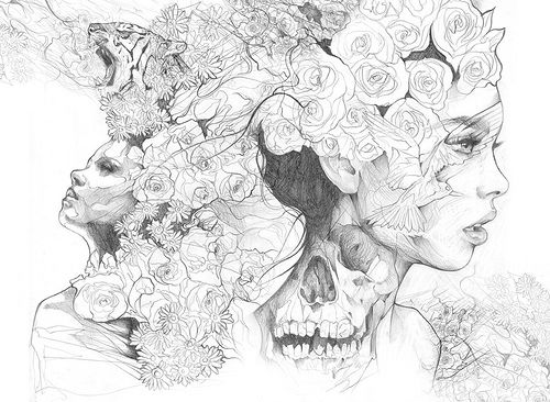 Pencil Sketch Collage Online