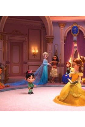 All the Disney Princesses Get Together for the First Time ...