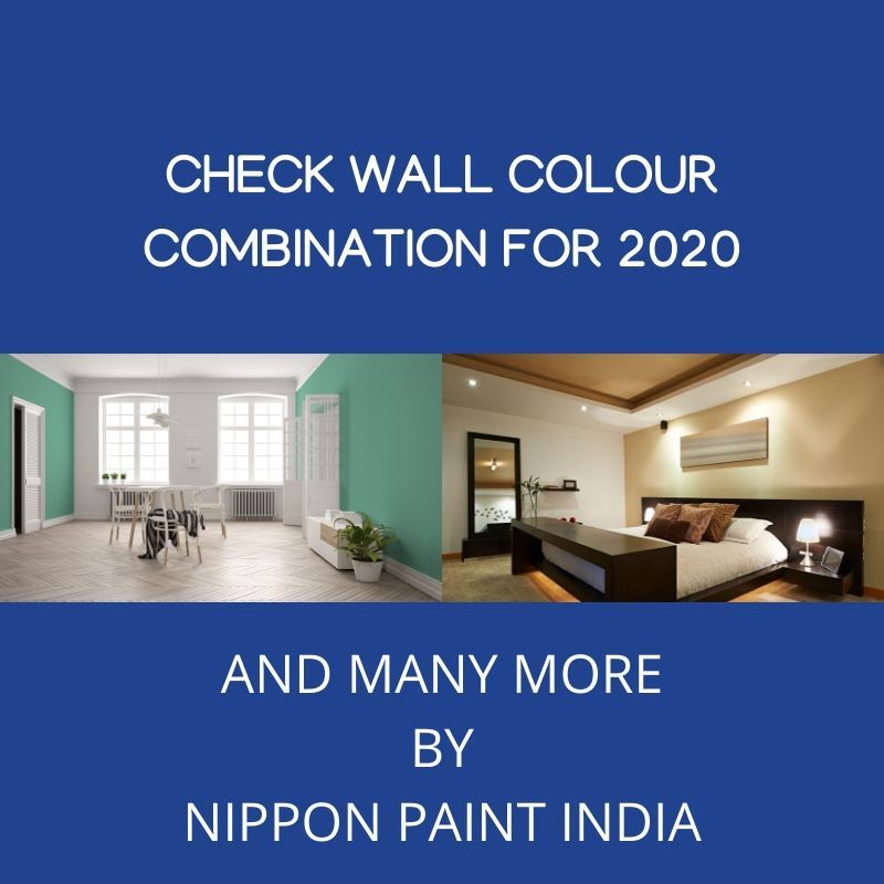 wall colour combination for 2020 by nippon paint india on paint combinations for interior walls id=73723