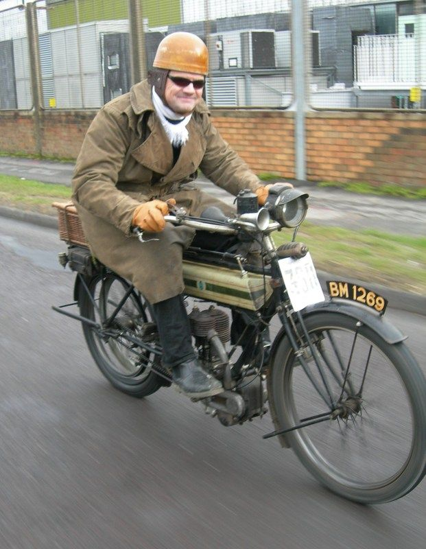 A Country For Old Men And Their Bikes Advrider Bike Vintage Motorcycle Motorised Bike