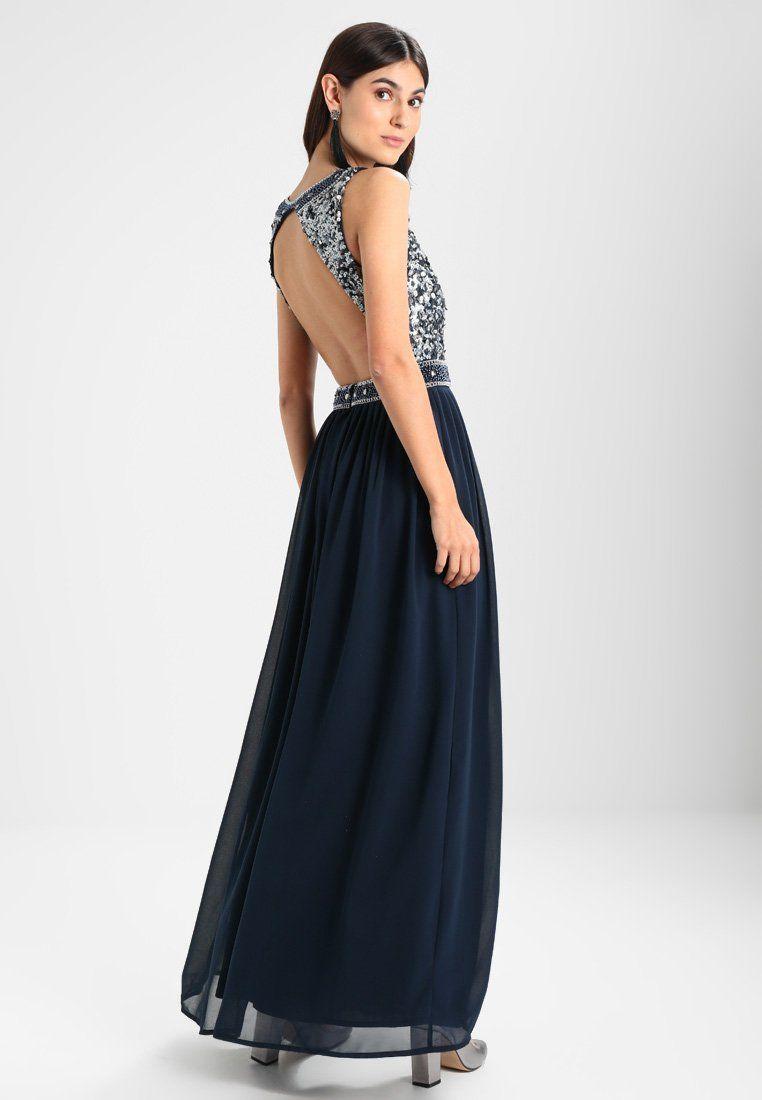 lace & beads ayana - ballkleid - petrol blue - zalando.at