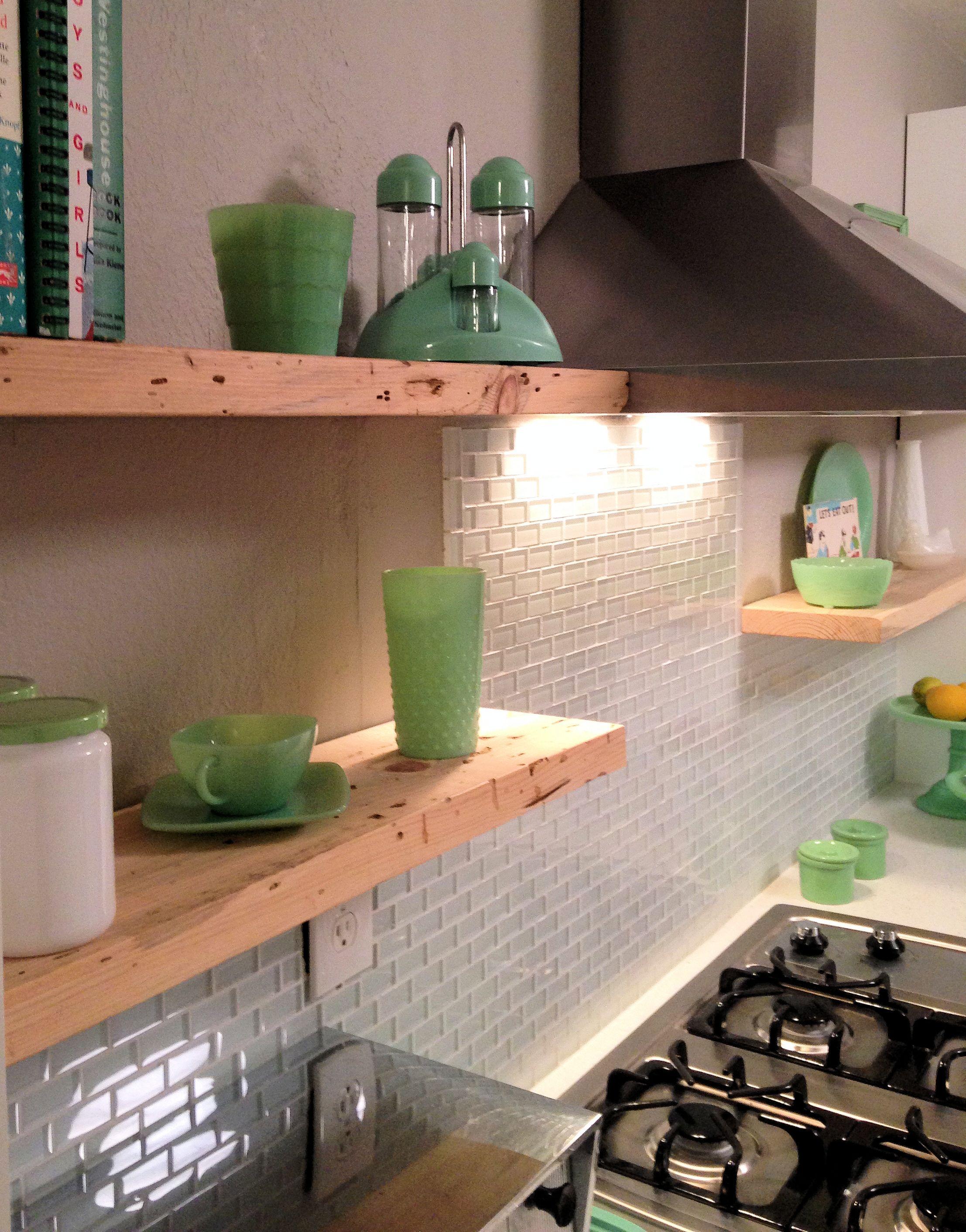 White 1x2 Mini Glass Subway Tile White Subway Tiles Kitchen