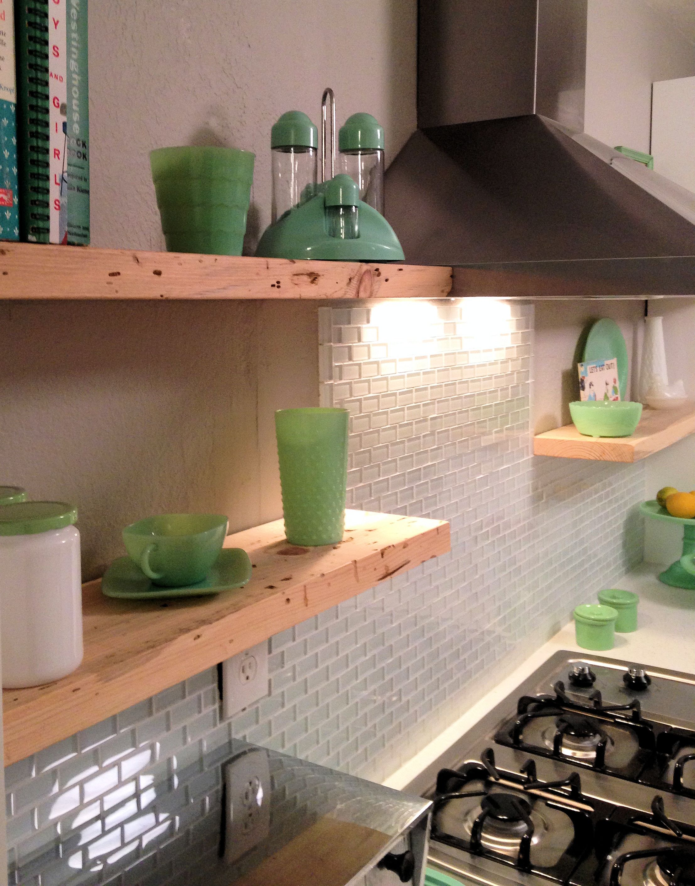 - White 1x2 Mini Glass Subway Tile Glass Subway Tile Backsplash