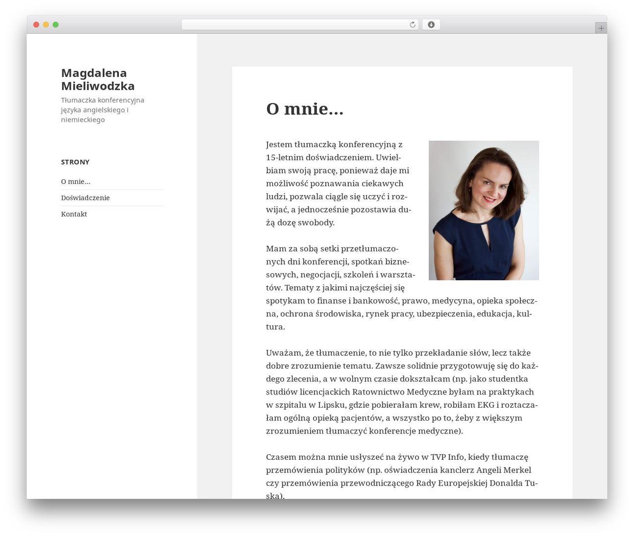 Twenty Fifteen WordPress free download - mieliwodzka.com   WordPress ...