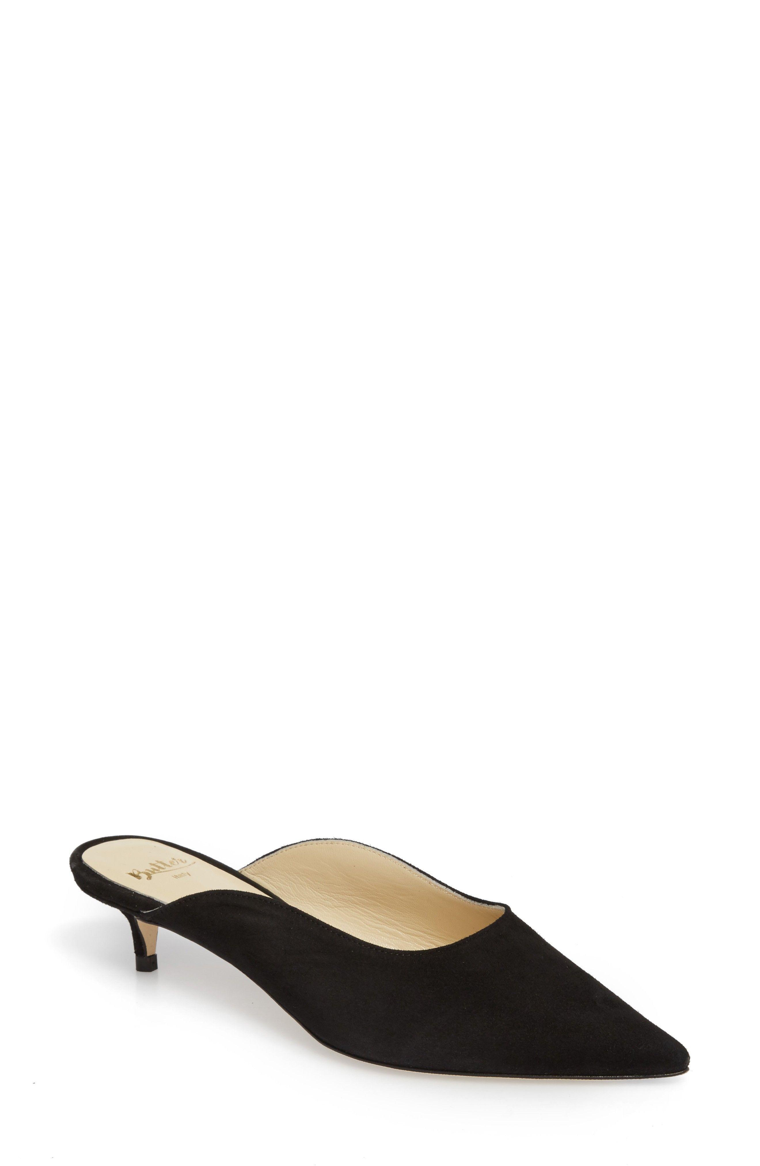 Butter Shoes Women's Butter Berta Pointy Toe Mule 2KnRWEMK