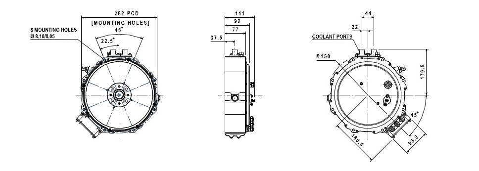 YASA Motors » YASA-400 Advanced Axial Flux Electric Motor | Ev's