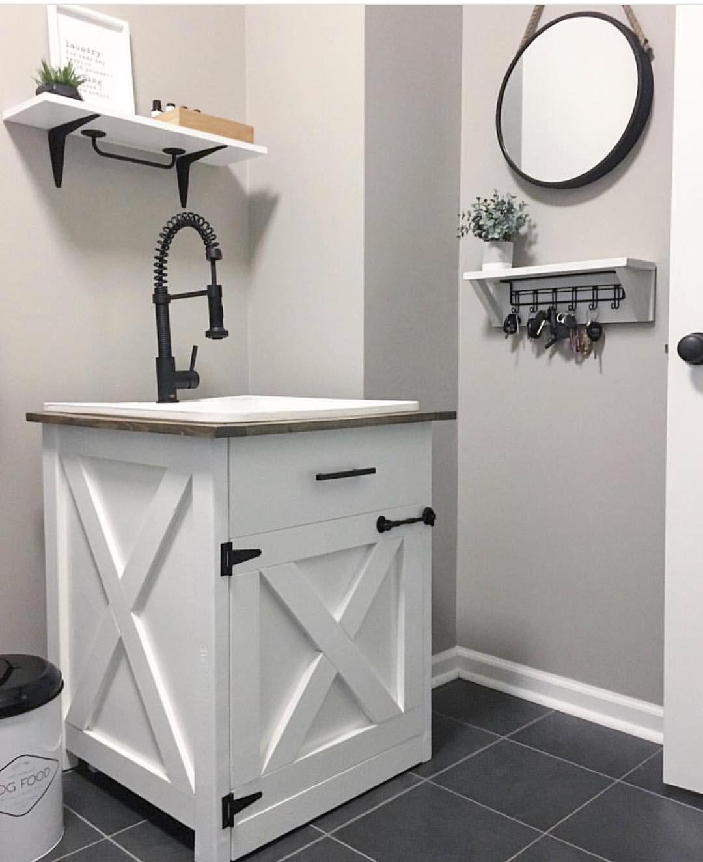We Love Our Bathroom Vanity That Southernpinerestorations Built