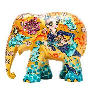Elephant Parade Stay Gold Elefant Asiatischer Elefant Elefanten