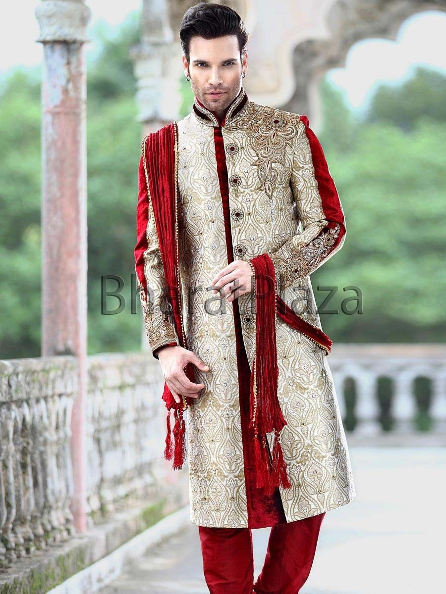 Großartig Indian Men Wedding Suit Ideen - Brautkleider Ideen ...