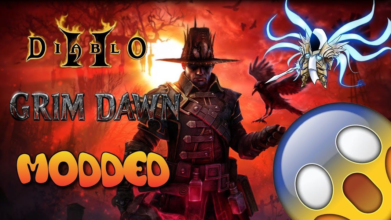 Diablo 2 Grim Dawn Modded Act 1 - Den of Evil  Credits to