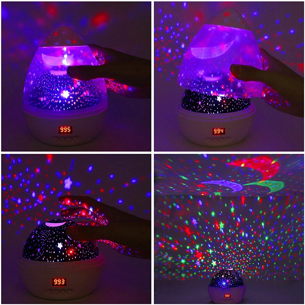Star Sky Night Lamp,Baby Night Light Projector