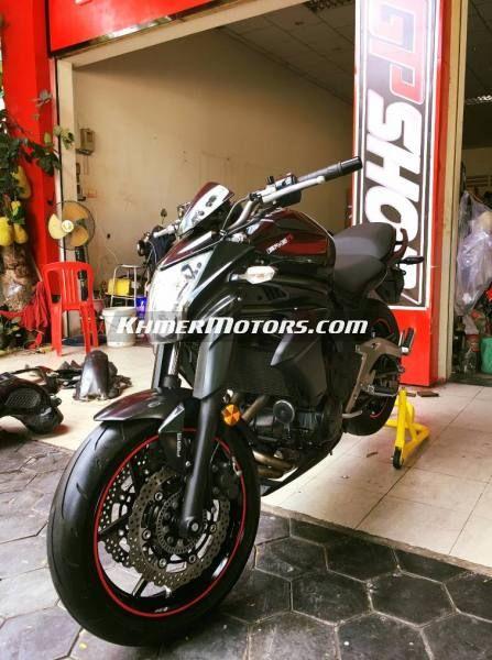 Kawasaki Er6n 650cc ឆន 2013 Motorcycles For Sale