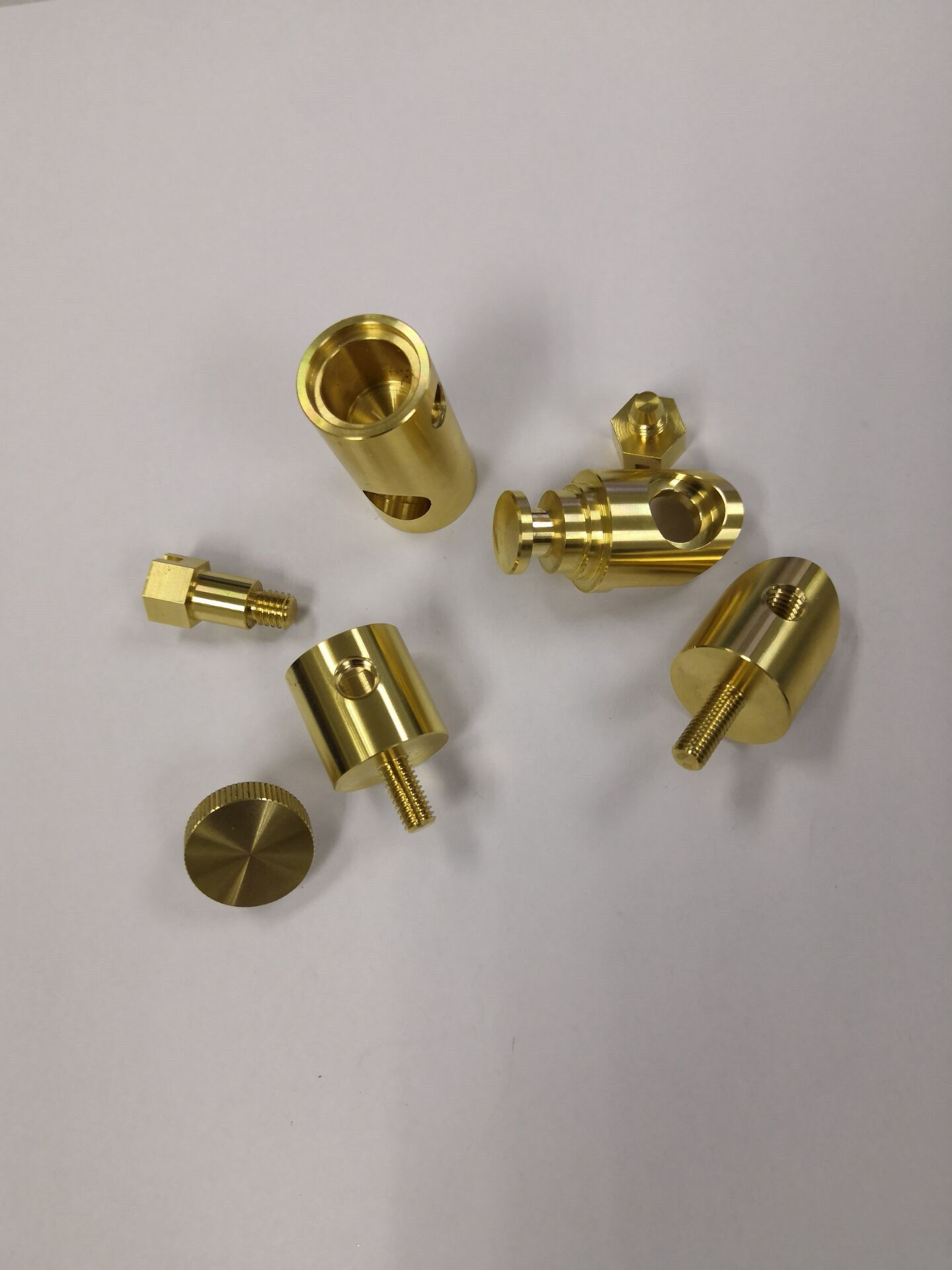 CNC machining we are able to do prototyping and production of small