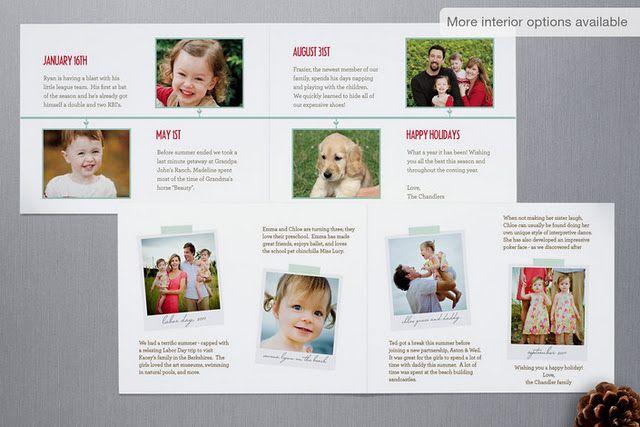 holiday card timeline