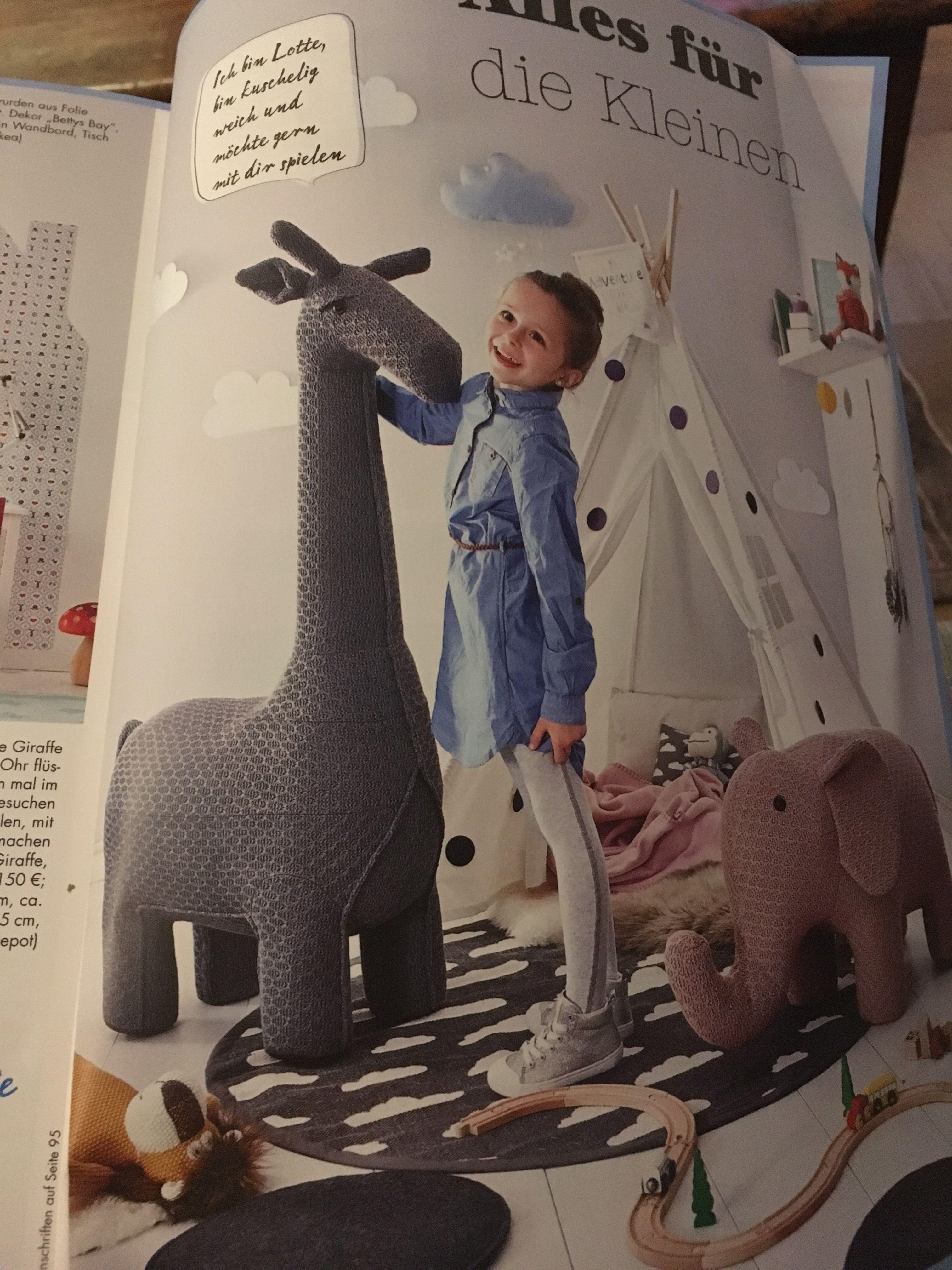 Depot Giraffe Hocker Kinderzimmer Pinterest