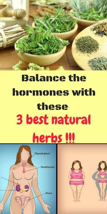 Balance the hormones with these herbs!  #wieghtloss  #beautyhacks