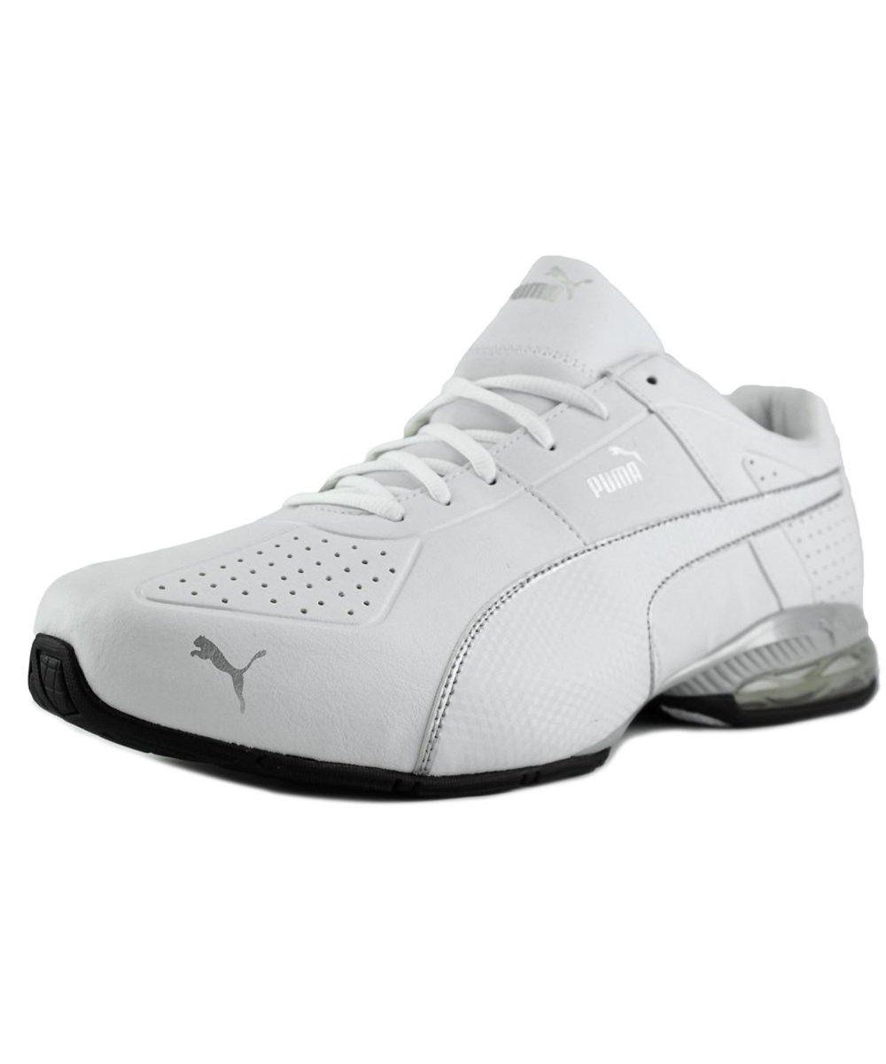 f874f5f37ae0 ... online for sale 2e4d2 62432 PUMA Puma Cell Surin 2 Fm Men Round Toe  Leather White ...