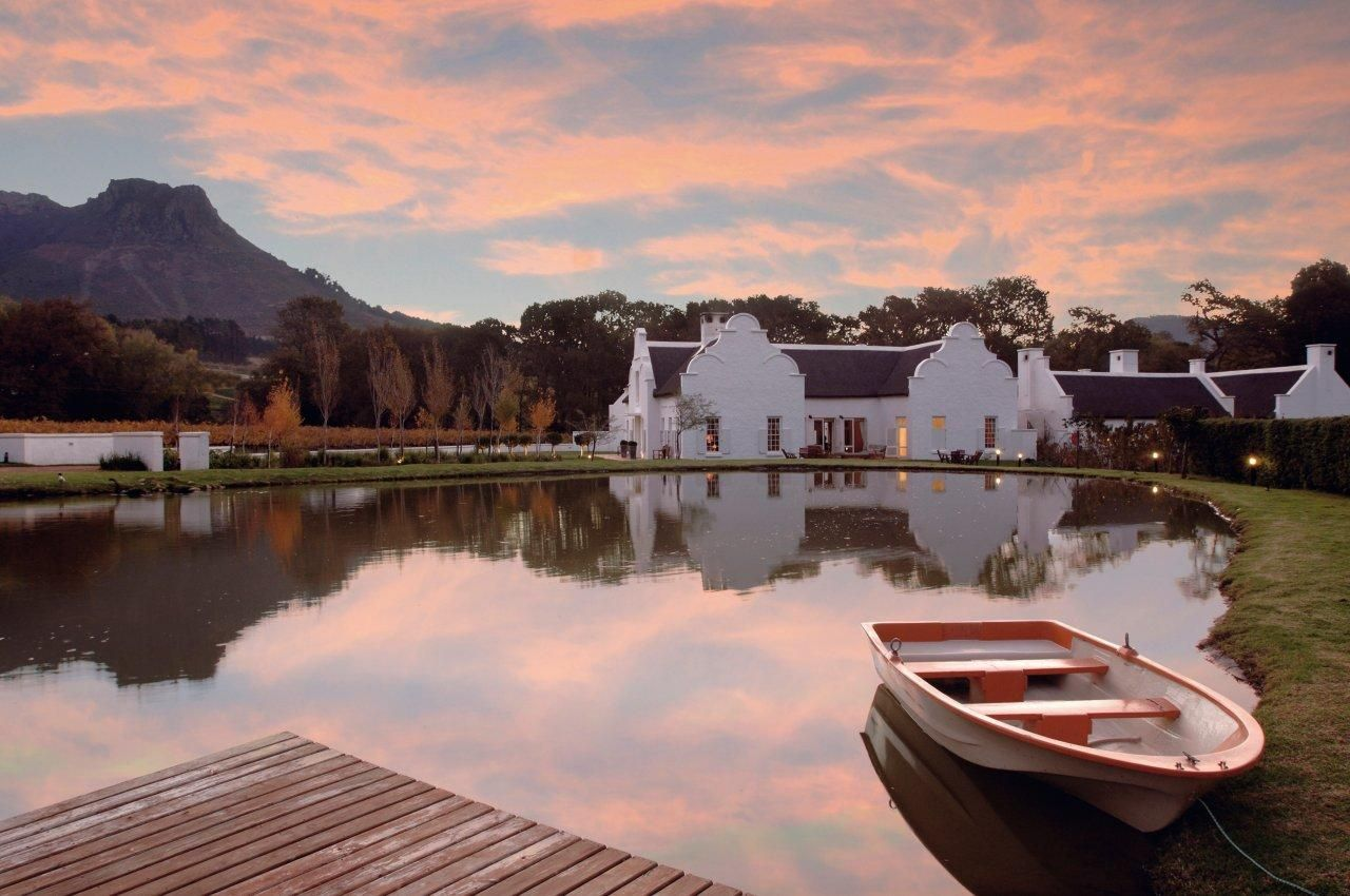 Private Guest House in the Winelands Luxury Villas