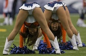 Bent over teen cheerleader photos