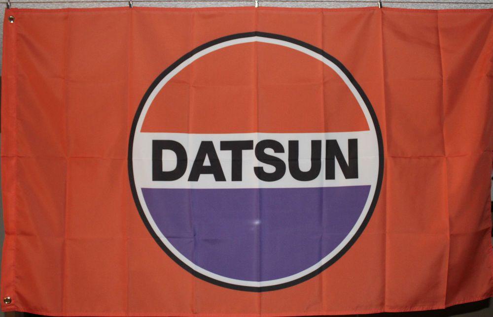 Datsun Automobile Banner Flag 3x5 Man Cave Garage Hanger