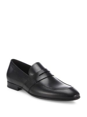 dc737276a90 SALVATORE FERRAGAMO Guado Calfskin Penny Loafers.  salvatoreferragamo  shoes   flats