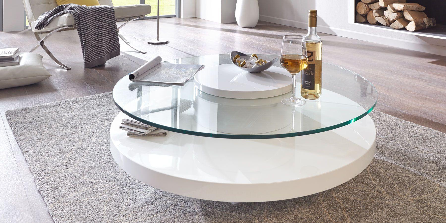 Wohnzimmertisch Weiss Rund Coffee Table Glass Top Coffee Table