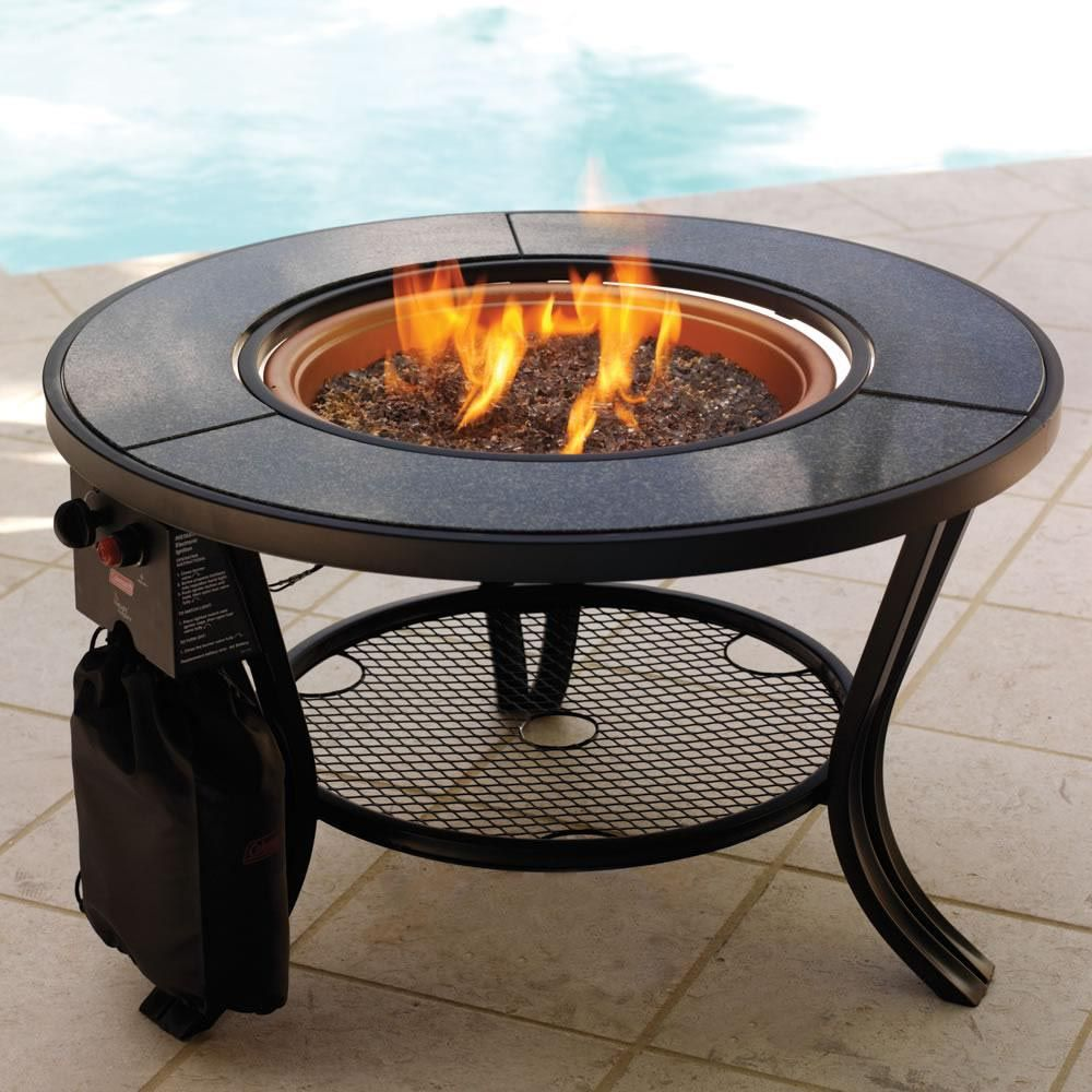 Coleman Propane Fire Pit Fire Pit Fire Pit Table Outdoor Fire Pit Table