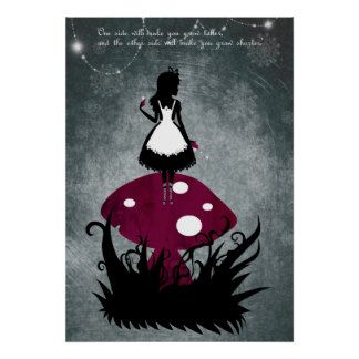 alice in wonderland poster - Google Search