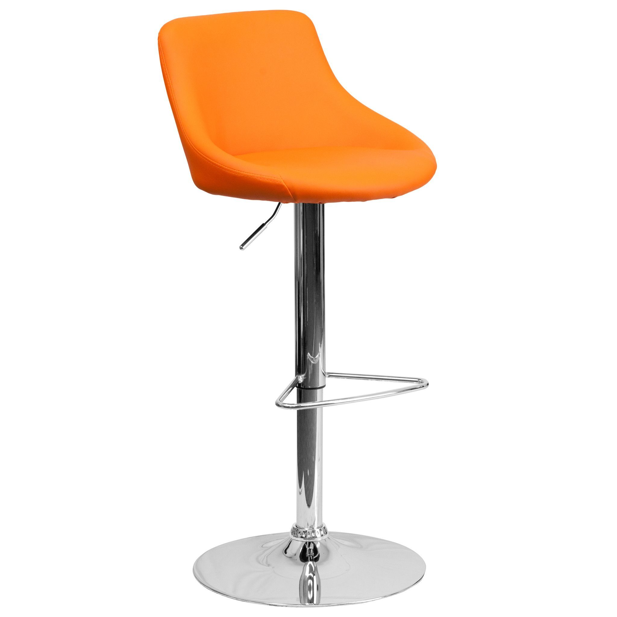 Designer Bucket Seat Swivel Home Office Kitchen Bar Stools Chairs 6-Colors  #82028 (