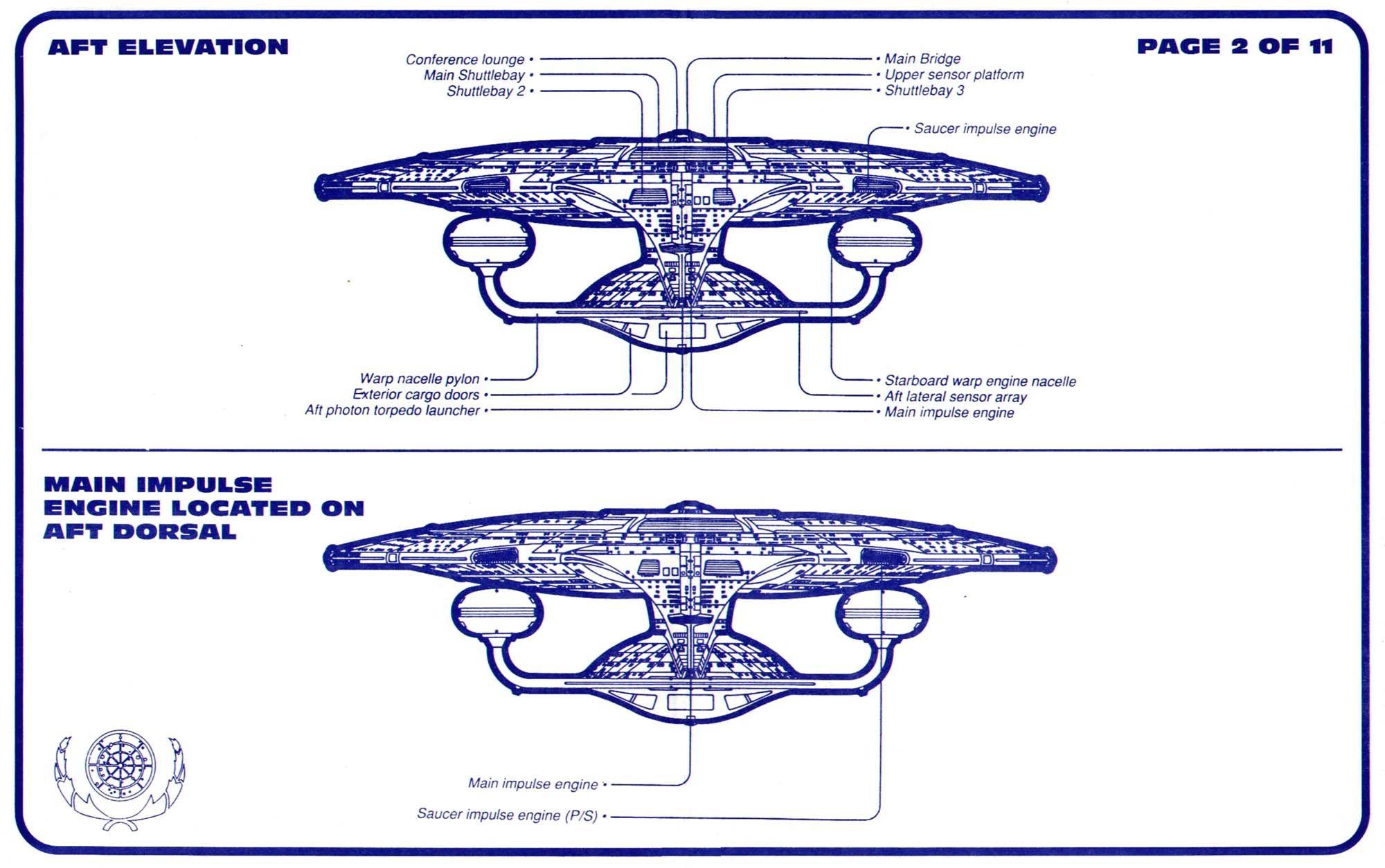 Uss enterprise ncc 1701 d galaxy class saucer separation r flickr - Schematic Of Matter Antimatter Assembly Chamber Of U S S Enterprise Ncc 1701 D Star Trek U S S Enterprise Ncc 1701 D Pinterest Star Trek And Trek