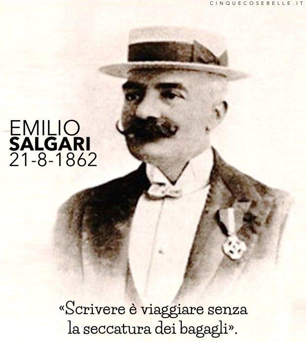 153 anni dalla nascita di Emilio Salgari