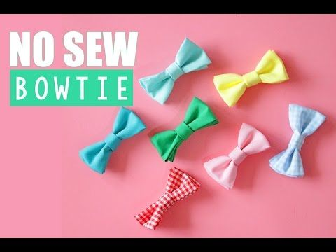 No Sew Diy Bowtie  Lacey Placey  Headbands    Sewing