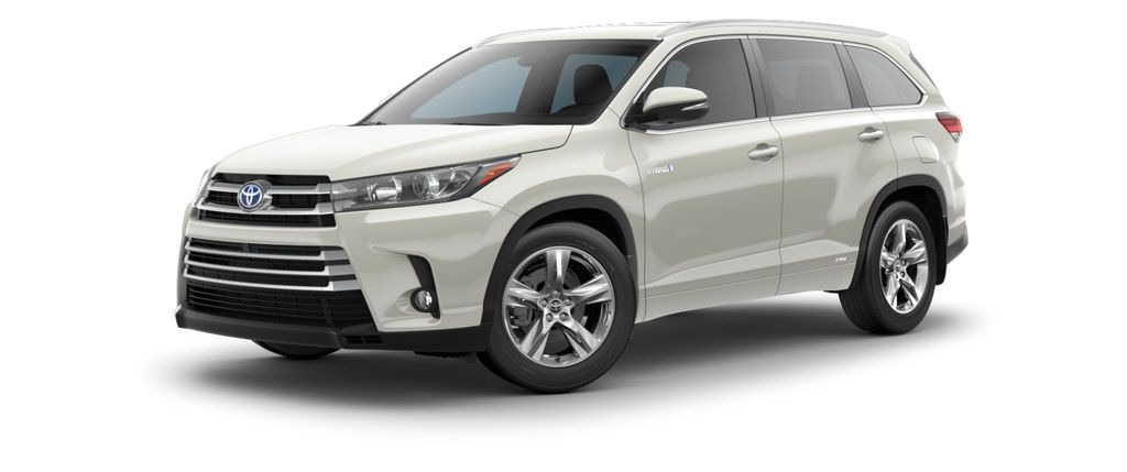 Official 2018 Toyota Highlander Hybrid Site Find A New Midsize