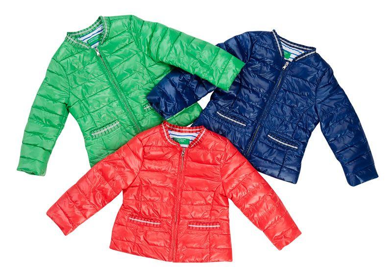 Benetton-kevyttoppatakki, 25 €. Tyylikäs citytakki tytölle. Kolme väriä. Koot: 90–150 cm. Norm. 45,95 €.  UNITED COLORS OF BENETTON, 1. KRS