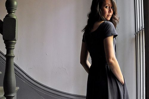 Colette : Grey Moneta Dress by make_something, via Flickr