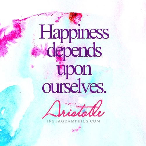 Aristotle Quotes On Happiness: Express Yourself With This Happiness Depends Upon