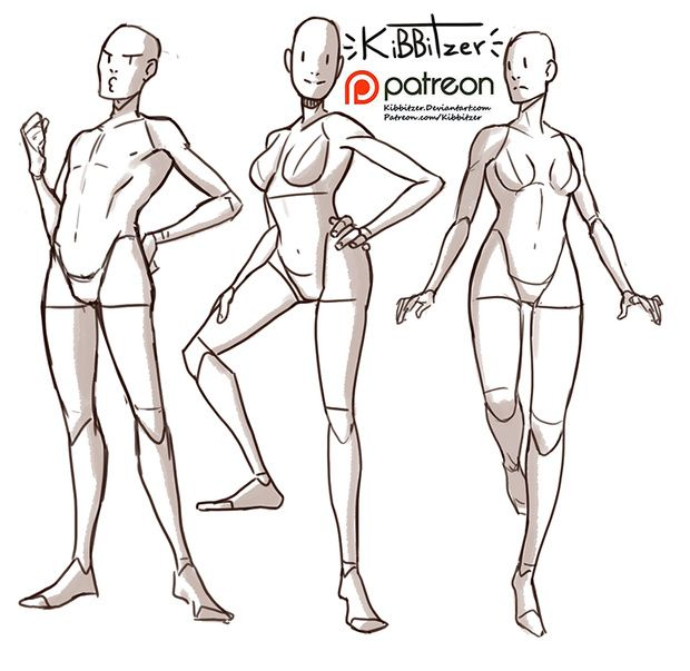 Fullbody Reference Sheet Preview Kibbitzer On Patreon Drawing Poses Drawing Poses Male Pose Reference