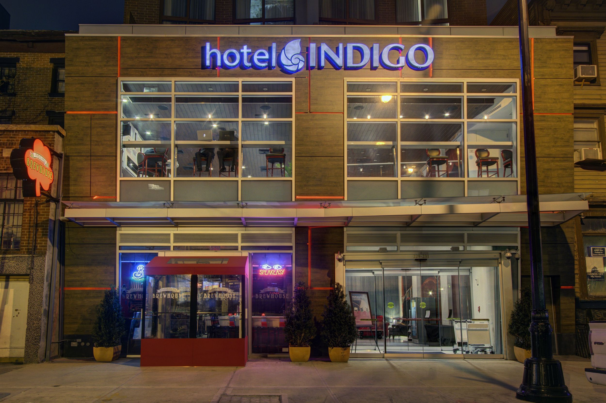 Check Out Hotel Indigo In The Heart Of Brooklyn With Images